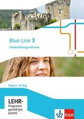 Blue Line, Ausgabe Mittelschule Bayern 2017: 7. Klasse, Vokabelübungssoftware M-Zug