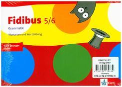 Fidibus (Ausgabe 2016): 5./6. Schuljahr, Arbeitsheft: Grammatik, 3 Bde.