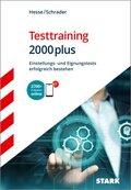 Testtraining 2000plus
