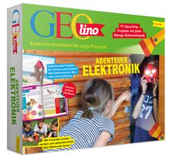 GEOlino Experimentierkästen für junge Forscher - Abenteuer Elektronik