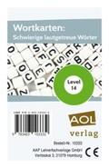 Wortkarten: Schwierige lautgetreue Wörter - Level 14 (Kartenspiel)