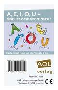 A, E, I, O, U - Was ist dein Wort dazu? (Kartenspiel)