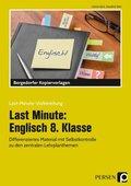 Last Minute: Englisch 8. Klasse