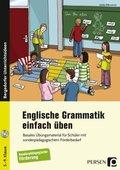 Englische Grammatik einfach üben, m. 1 Audio-CD, m. 1 Buch