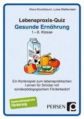 Lebenspraxis-Quiz: Gesunde Ernährung (Kartenspiel)