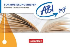 Abi to go - Deutsch