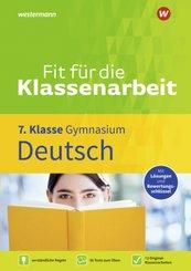 Fit für die Klassenarbeit - Gymnasium - Deutsch 7