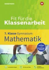 Fit für die Klassenarbeit - Gymnasium - Mathematik 7