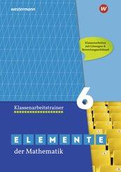 Elemente der Mathematik Klassenarbeitstrainer 6, Ausgabe für das G9 in Nordrhein-Westfalen