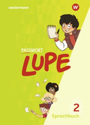 PASSWORT LUPE - Sprachbuch - Schülerband 2