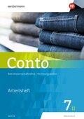 Conto, Realschule Bayern, Ausgabe 2019: 7. Jahrgangsstufe, Wahlpflichtfächergruppe II, Arbeitsheft