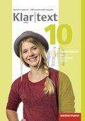 Klartext, Differenzierende allgemeine Ausgabe 2014: 10. Schuljahr, Arbeitsbuch für das gemeinsame Lernen: Individuelle Förderung - Inklusion