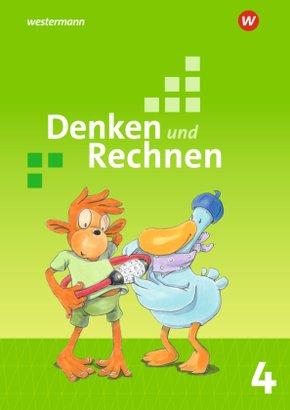 Denken und Rechnen, Allgemeine Ausgabe 2017: 4. Schuljahr, Schülerband
