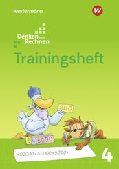 Denken und Rechnen, Allgemeine Ausgabe 2017: 4. Schuljahr, Trainingsheft
