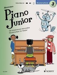 Piano Junior: Klavierschule - Bd.3