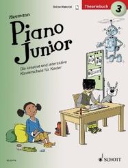 Piano Junior: Theoriebuch - Bd.3