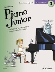 Piano Junior: Konzertbuch - Bd.3