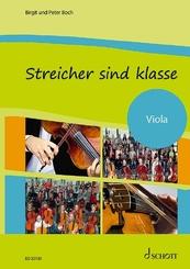 Streicher sind klasse: Schülerheft Viola