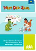 Welt der Zahl - Inklusionsmaterialien: Schriftliches Dividieren, Wahrscheinlichkeiten, Zeit, Rauminhalt, Orientierung; .F3