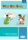 Welt der Zahl - Inklusionsmaterialien: Tonne, Liter, Kilometer, Fahrplan, Sachrechnen; F4