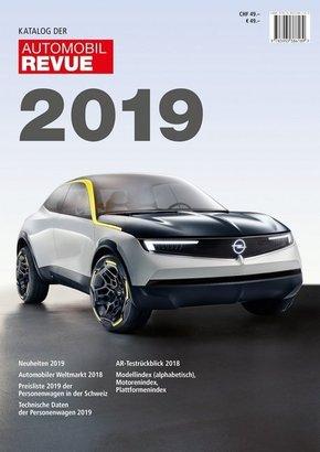 Katalog der Automobil-Revue 2019 / Catalogue de la Revue Automobile 2019