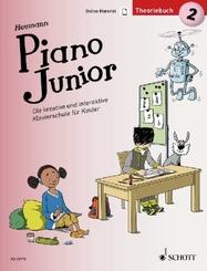 Piano Junior: Theoriebuch - Bd.2