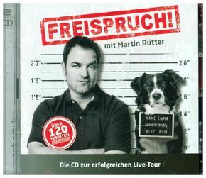 Freispruch! - Live, 2 Audio-CDs