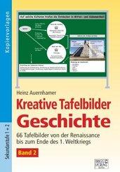 Kreative Tafelbilder Geschichte, m. CD-ROM - Bd.2
