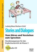 Stories and Dialogues, m. Audio-CD