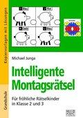 Intelligente Montagsrätsel 2./3. Klasse