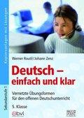Deutsch - einfach und klar 5. Klasse