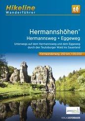 Hikeline Wanderführer Fernwanderweg Hermannshöhen - Hermannsweg-Eggeweg