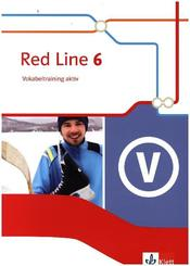 Red Line. Ausgabe ab 2014 -10. Klasse, Vokabeltraining aktiv - Bd.6