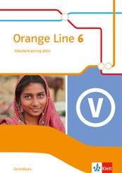 Orange Line. Ausgabe ab 2014: 10. Klasse, Vokabeltraining aktiv Grundkurs