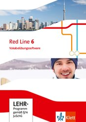 Red Line. Ausgabe ab 2014 -10. Klasse, Vokabelübungssoftware, CD-ROM - Bd.6