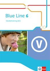 Blue Line. Ausgabe ab 2014: 10. Schuljahr, Vokabeltraining aktiv
