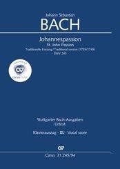 Johannes-Passion (Klavierauszug XL)