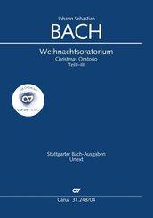 Weihnachtsoratorium (Klavierauszug deutsch)