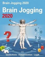 Brain Jogging 2020 - Kalender, Tischkalender