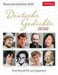 Deutsche Gedichte 2020 - Kalender, Tischkalender