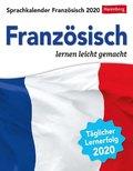 Sprachkalender Französisch 2020 - Kalender, Tischkalender