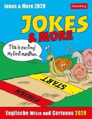 Jokes & More 2020 - Kalender, Tischkalender