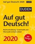 Duden Auf gut Deutsch! 2020 - Kalender, Tischkalender