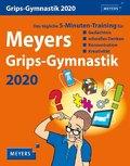 Meyers Grips-Gymnastik 2020 - Kalender, Tischkalender