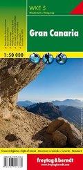 Freytag & Berndt Wanderkarte Gran Canaria 1:50.000