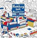 Hamburg zum Ausmalen