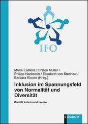 Inklusion im Spannungsfeld von Normalität und Diversität - Bd.2