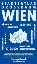 Freytag & Berndt Wien Großraum Städteatlas, Stadtplan 1:20.000