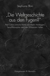 """""""Die Weltgeschichte aus den Fugen?"""""""