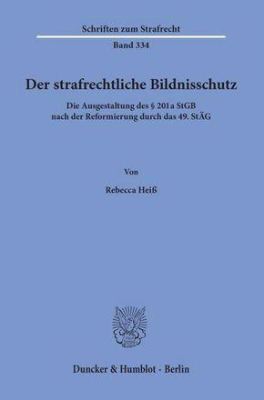 Der strafrechtliche Bildnisschutz.